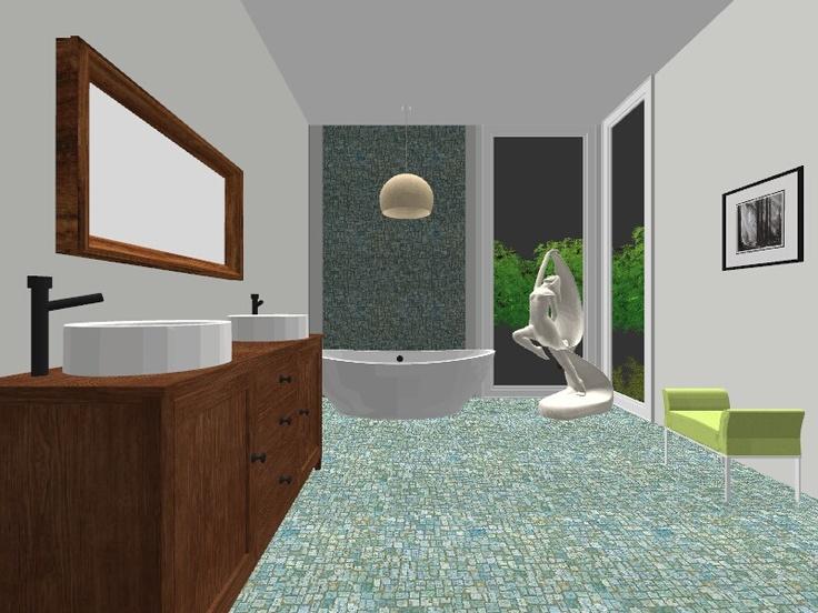 Design by Clara Puskas~Award Winning Green Designer/ A-room/Option1