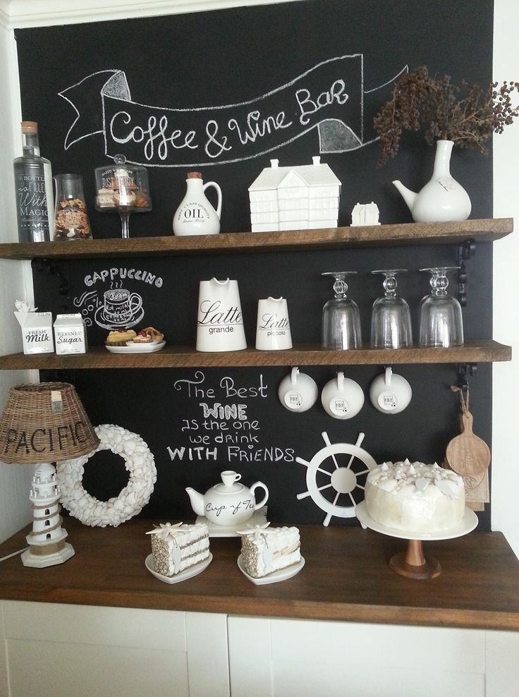 25 beste idee n over koffiecorner op pinterest bar in de hoek koffie hoekje en thee station - Mode keuken deco ...