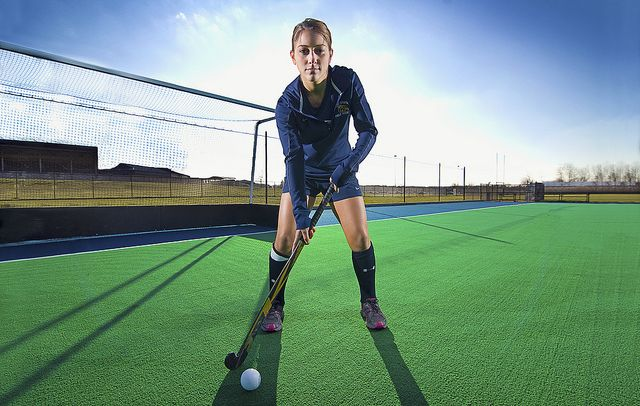 Field Hockey Portraits want to do for senior picture