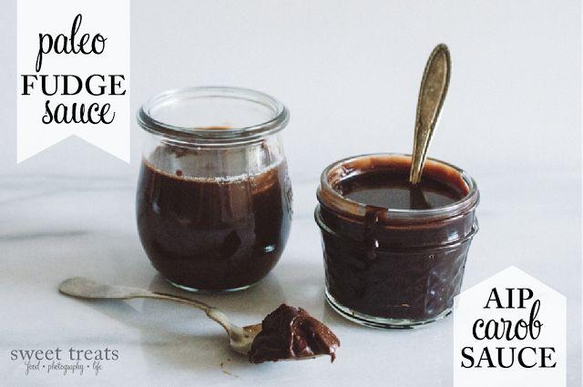 Paleo Fudge Sauce & AIP Carob Sauce
