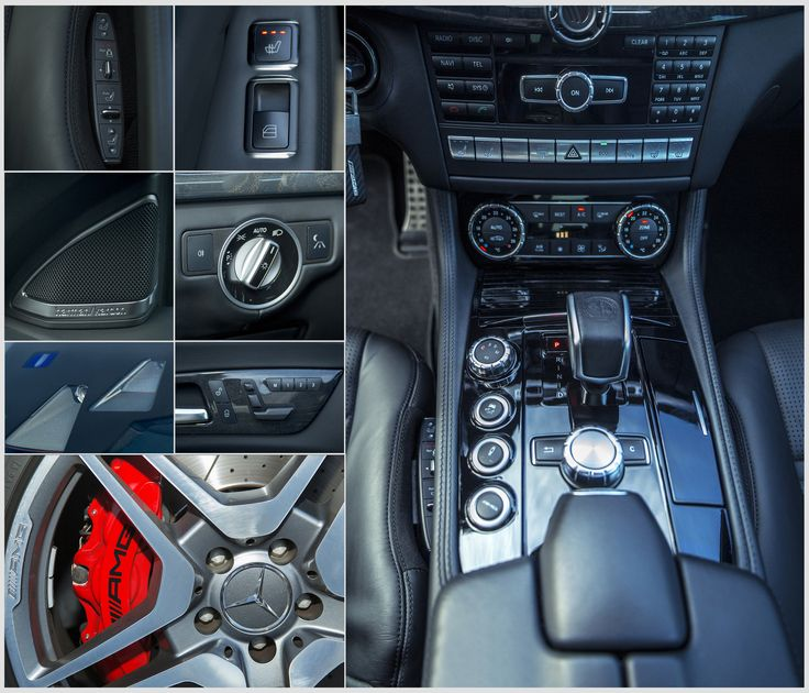 AMG Car - A glimpse on a Mercedes AMG CLS63 car.