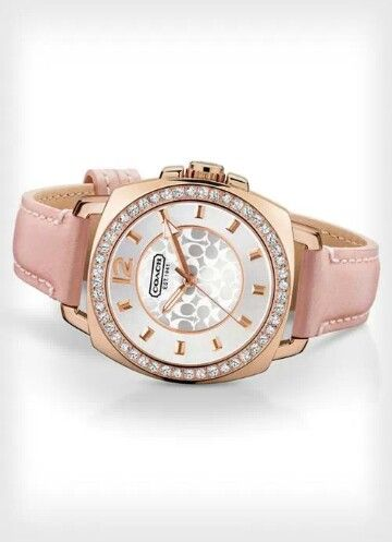 coach watch outlet 7poi  PINK-Coach Watch