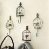super cute birdhouse hooksCoats Hooks, Decor, Wall Hooks, Birds Cages, Assorted Birds, Birds Theme, Birds Hooks, Birdcages Hooks, Ballard Design