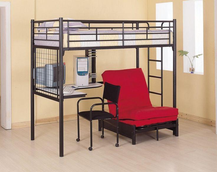 Loft Bed Desk Futon - Living Room Sets at ashley Furniture Check more at http://www.gameintown.com/loft-bed-desk-futon/