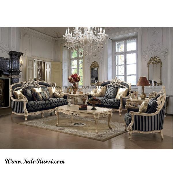 JualKursi Sofa Ruang tamu Ukiran Jepara merupakan produk Kursi Ruang Tamu dengan desain yang mewah dan tampil elegant untuk Sofa Ruang Tamu yang mewah
