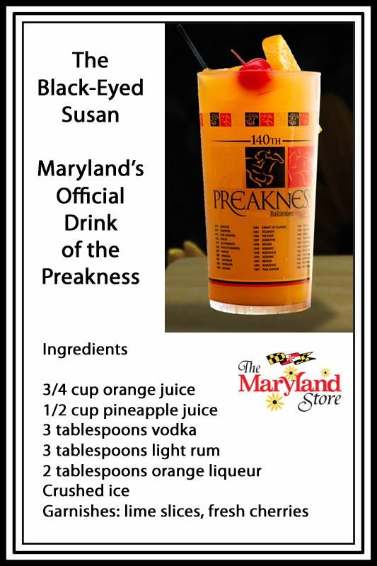 Black-Eyed Susan - Maryland's Officeal Dring of the Preakness | Food ...