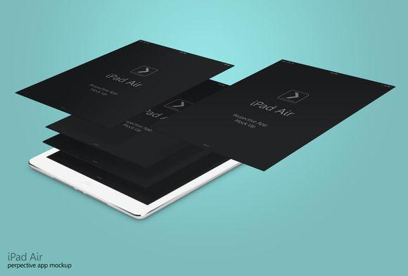 Perspective App Ipad Air #3 by adedivasyaheera on @creativemarket