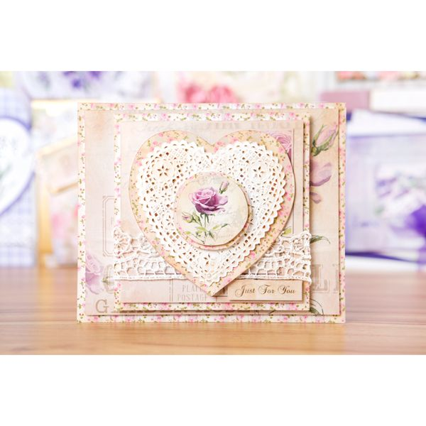 My Craft Studio Lavendar Reign CD ROM with 100 Sheets of Super Smooth Paper 120gsm (400485) | Create and Craft
