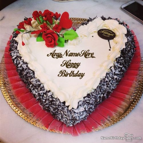 Birthday Cake Pictures Romantic : 51 best Name Birthday Cakes For Lover images on Pinterest ...