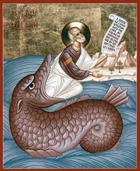 Saint Jonah and the Great Fish