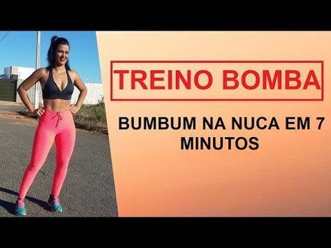 TREINO SIMPLES PARA AUMENTAR O BUMBUM RAPIDAMENTE! Treino Completo de Pernas e Gluteos Em Casa! - YouTube