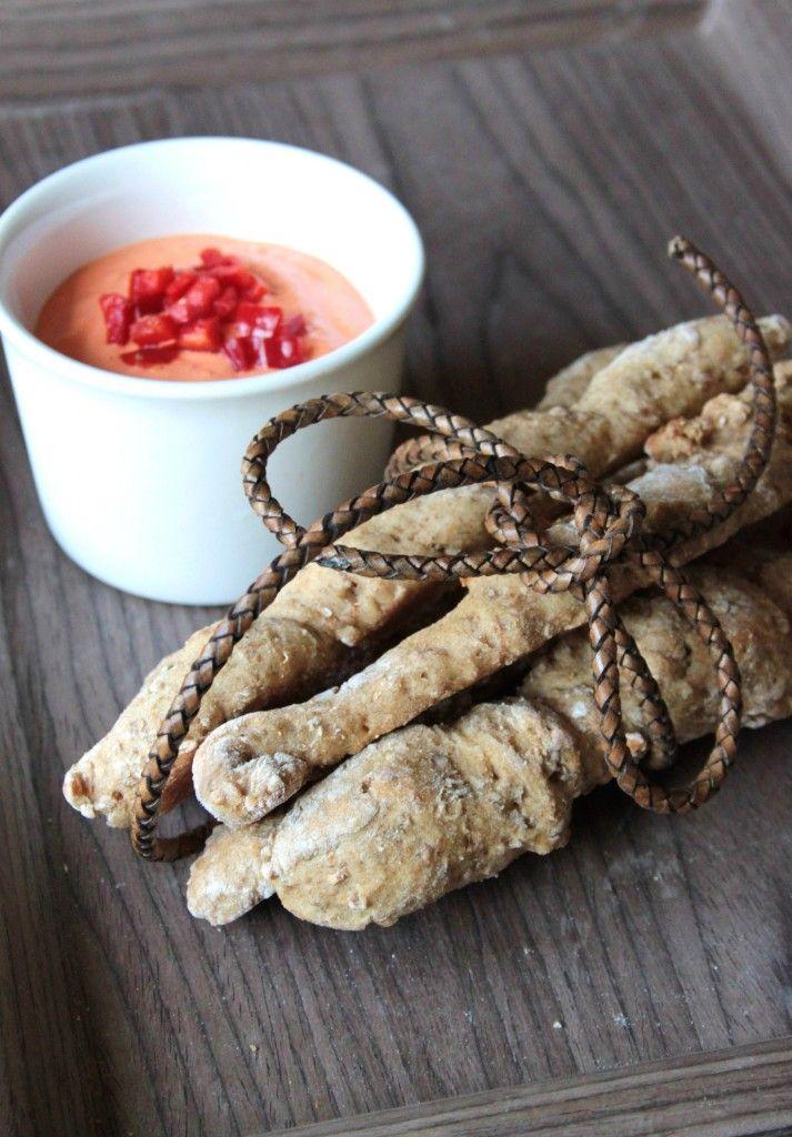 Rugbrødsstænger – det sunde mellemmåltid 24 stk