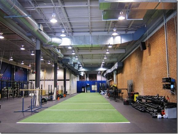 The Reebok Crossfit Gym. AMAZING. #fitfluential #RBKFITBLOG