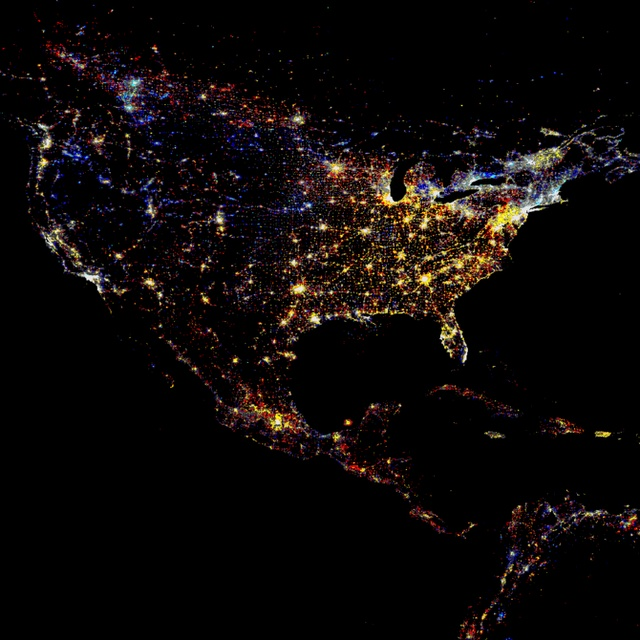 Best Satellite Views Images On Pinterest Beautiful Places - World satellite night view