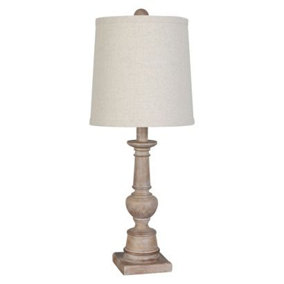 Threshold turned wood table lamp collection for living room or bedroom right now buy one get for Wooden table lamps for living room