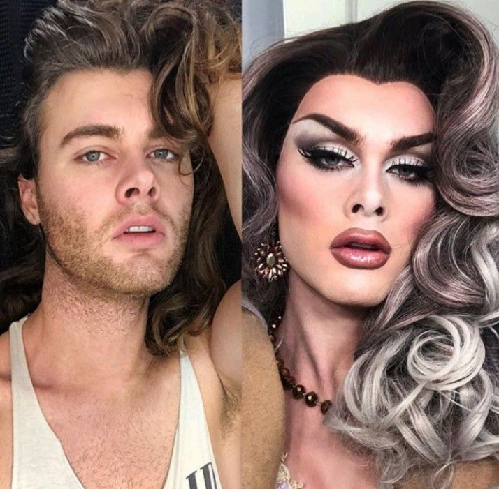 Okay Now I Have A Crush On Scarlet Envy In And Out Of Drag Woow