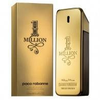 #OneMillion 100ml | Perfect #Cologne for Men 1 MILLION #EaudeToilette, the #scent of a charming seducer. Gleaming with bad boy charm inside a gold ingot, 1 MILLION Eau de Toilette is simply irresistible. Its suave and intriguing trail is built on a fresh spicy leather accord. Yield to the arresting alchemy of seduction. http://nzoutlet.co.nz/product/product_details/001m