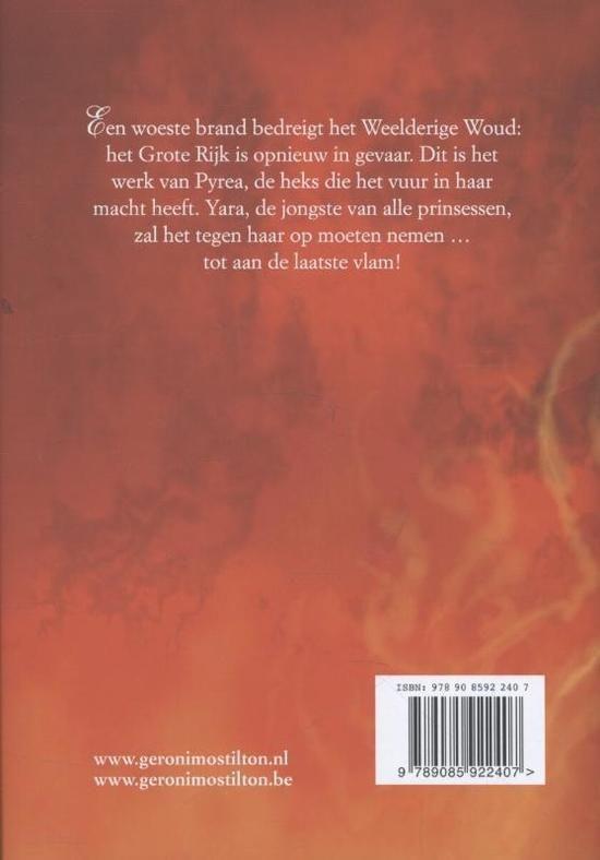 Heksen van Fantasia 2 - De heks van vuur en vlam