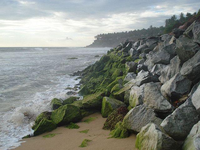 Varkala Papanasham Beach