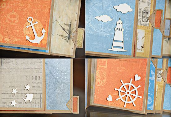 ScrapBerry's: Antique Shop Mini Album SEA by Lisa Nazario-Gregory