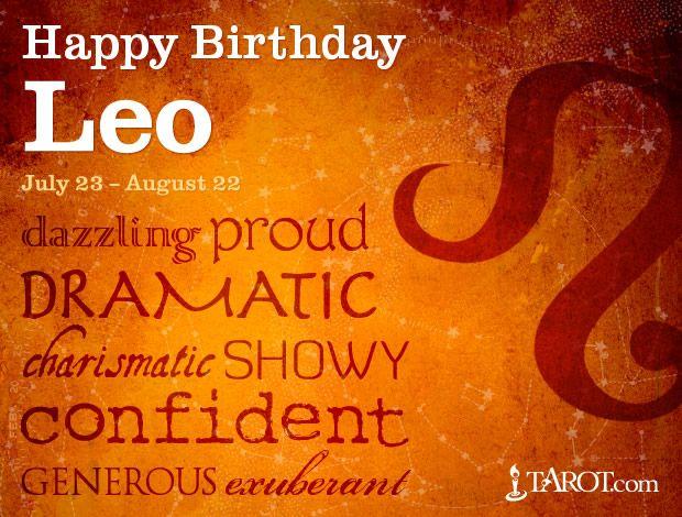 Leo Birthday Astrology | Leo | Leo birthday, Happy birthday leo