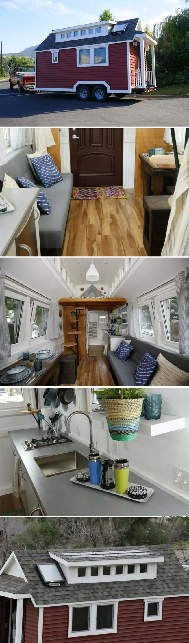 A tiny house made of plastic!
