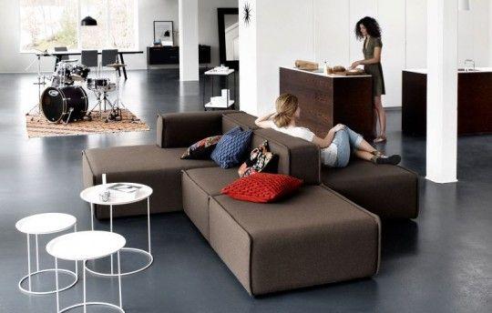 Inspiration déco : 18 canapés design chez BoConcept