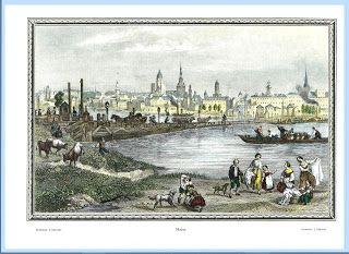 Zwei historische bilder von Mainz ~ Gott und die Welt #Mainz #Vintage #Kunst #Germany