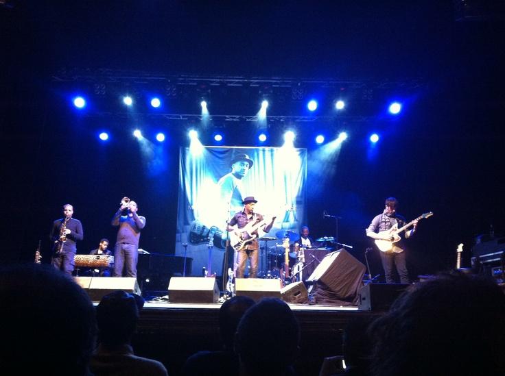 Marcus Miller @ Teatro del Giglio, Lucca. 15 novembre 2012