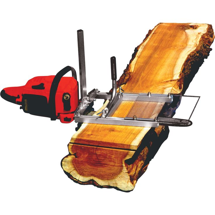 The Alaskan small log Chain Saw Milling attachment is perfect for the woodworker, homeowner or carpenter. Compact, lightweight design bolts directly to the chain saw's bar without any drilling required.