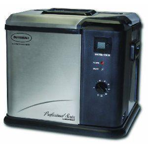 Masterbuilt Butterball Professional Series Indoor Electric Turkey Fryer Machine