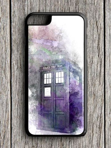 Abstract Art Tardis Police Box iPhone 6 Case