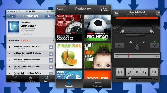 Apple's Official Podcast App Streams, Downloads, and Syncs iOS Podcasts with iTunes http://catchup.podomatic.com/
