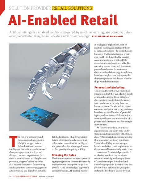 Al-Enabled Retail. #solutionproviders #retailsolutions