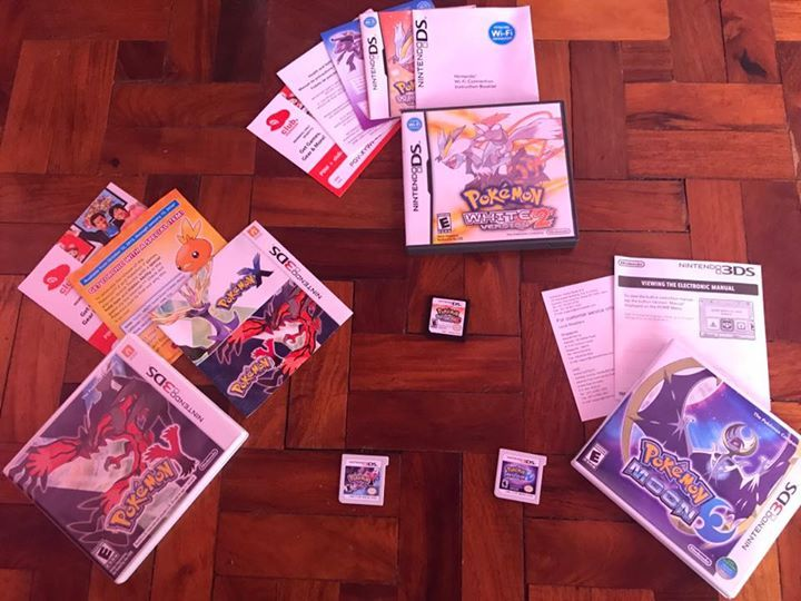 For sale this Pokemon games for 3ds 3 for 3.5k fix price.. NO ISSUE, 100% SMOOTH, binenta ko na kasi 3DS ko kasi d ko naman din nagagamit..  location: around manila,bulacan,valenzuela, meycauayan, caloocan, sm north, trinoma,   PM me for more info.. #pokemon #pokemongo