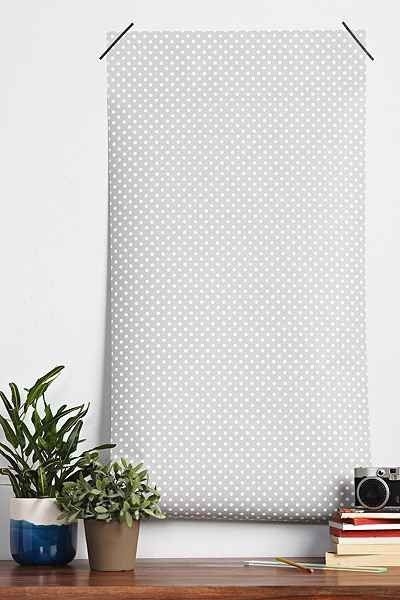 Who doesn't love a polka dot?This basic is a fantastically polished and gives great texture to a space!