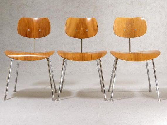 Wilde and Spieth Chair SE 68 von Egon Eiermann by FRANKFURTminimal, €259.00
