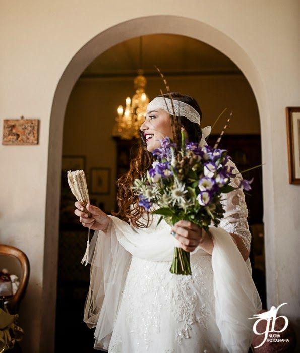 Boho Bride Con le ballerine verdi {Real Wedding} Fausto e Elena by Con le ballerine verdi