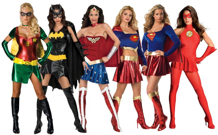 Sexy Superhero Costumes Womens Comic Book Movie Ladies Adult Fancy Dress Outfit | eBay