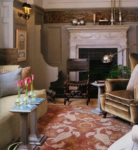 231 Best Images About Designer: Bobby McAlpine (interiors
