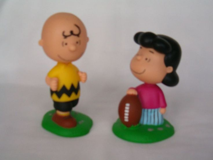 Funko Wacky Wobblers Bobble Heads Charlie Brown Amp Lucy The Football Tease | eBay