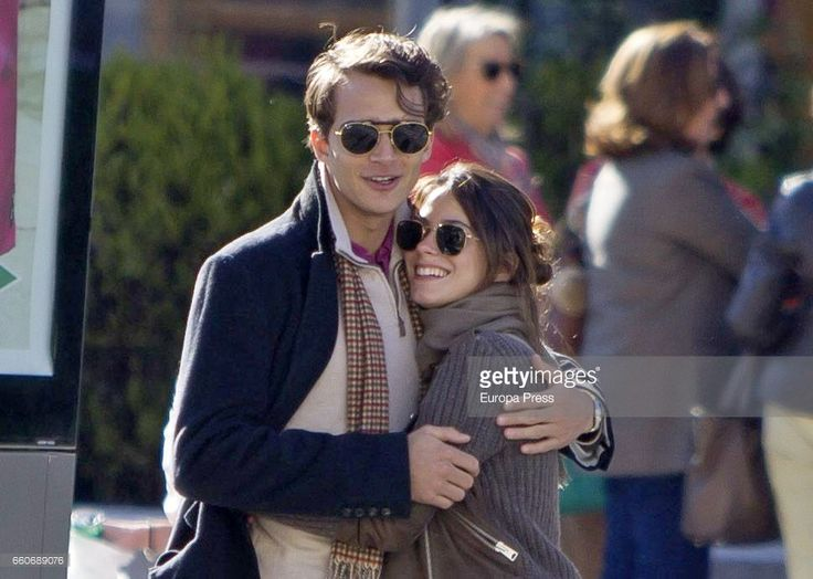Martina Stoessel and Pepe Barroso are seen on March 16, 2017 in Madrid, Spain.