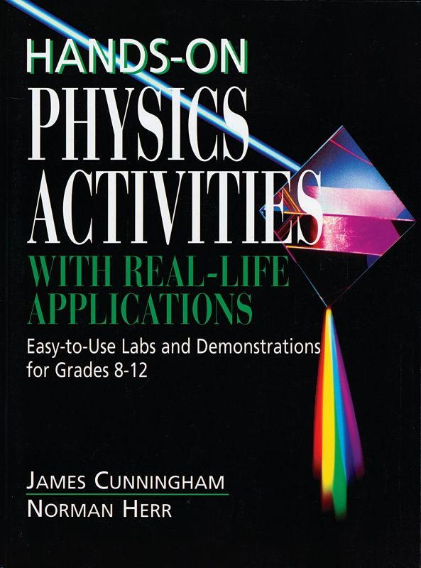 Nearly 200 investigations, demonstrations, mini-labs, and other activities use everyday examples to make physics concepts easy to understand. Eight units cover measurement, motion, force, pressure, energy and momentum, waves, light, and electromagnetism. Lessons feature an introduction with common knowledge examples, reproducibles, teacher information, and additional applications. Over 300 illustrations. 672 pages, softcover.