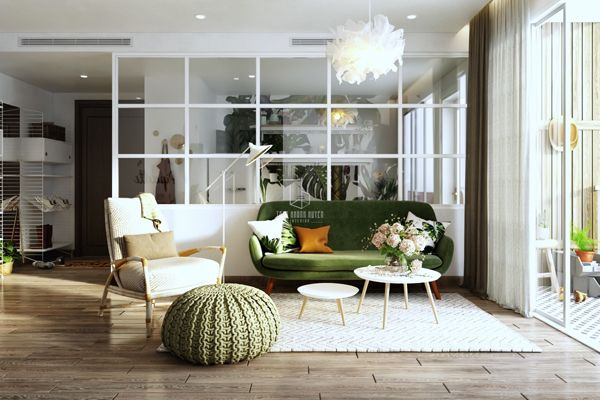 Scandinavian Style Homes With Greenery Accents Scandinavian Style Home Eclectic Living Room Contemporary House Design