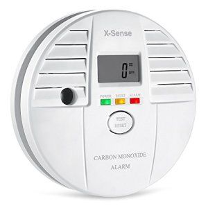X-Sense CO05S Détecteur de Monoxyde de Carbone Alarme CO Autonomie de 5 Ans A Pile Capteur Electrochemical Gas