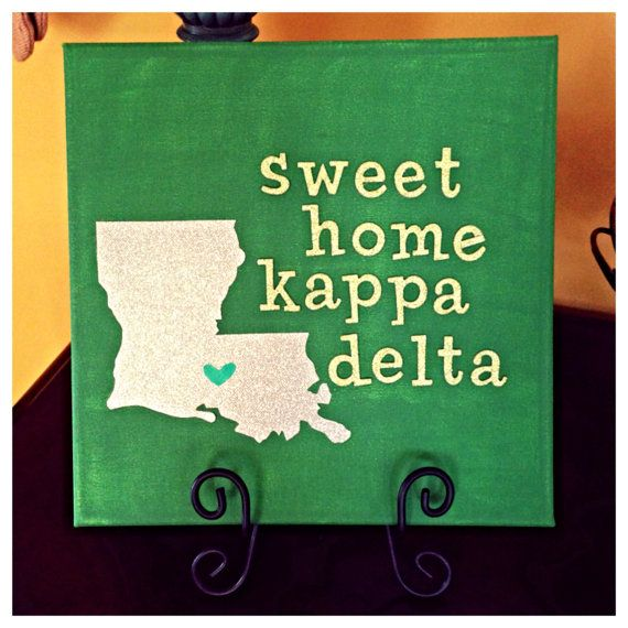 Sweet Home Kappa Delta by heavenlylifedesigns on Etsy