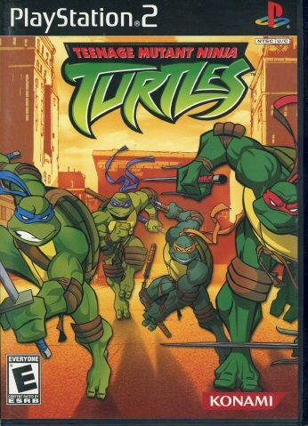 112.3423: PlayStation 2 Teenage Mutant Ninja Turtles | video game | Console Games | Video Games | Online Collections | The Strong