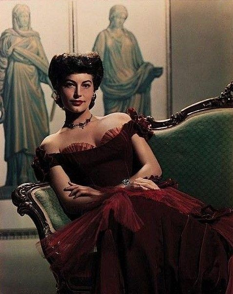 Ava Gardner by Gaston Longet, 1951