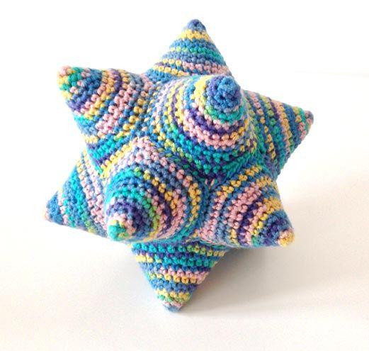 Hæklet stjernebold