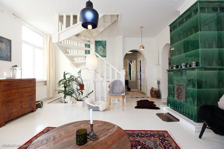 Myytävät asunnot, Linnankoskenkatu 10, Porvoo #oikotieasunnot #olohuone #livigroom